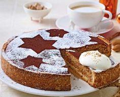 Zimtkuchen mit Mandeln