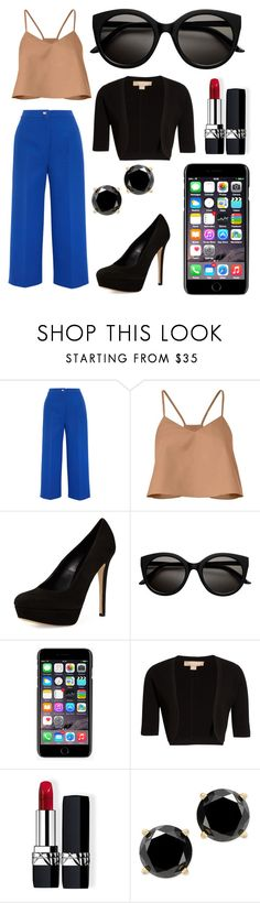 """""""Abp by Paulla Elise Cosiello Luiz"""" by pecturner ❤ liked on Polyvore featuring Fendi, TIBI, Charles David, Dolce&Gabbana, Michael Kors and Christian Dior"""