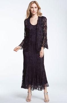 Soulmates Bead Crochet Dress & Jacket