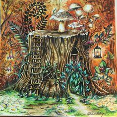 Incrível!!!!! Muito belo!!!!! @Regrann from @dreams.colors -  #watercolor #aquarela #pintura #coresquentes #florestaencantada #enchantedforest #johannabasford #secretgardenbook #jardimsecreto #coloringbook #coloring #coloriage #painting #drawing #coloringforadults #artecomoterapia #livrosdecolorirantiestresse #desenho #Regrann