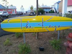 New to Put-in-Bay, Ohio in 2012~ The Keys. With a Key West theme this bar over looks Lake Erie.