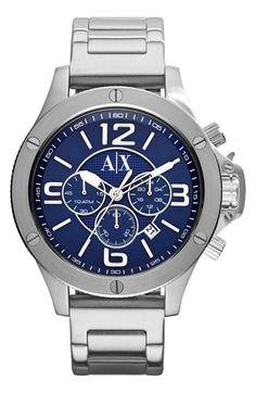 Men's AX Armani Exchange Chronograph Bracelet Watch