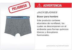 Jack  Ropa interior   #Detox #Fashion