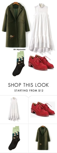 """""""Mona Lisa smile"""" by hijackedish on Polyvore featuring 3.1 Phillip Lim, Laurence Dacade and HOT SOX"""
