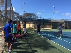 さとうあつこのハワイ不動産: WTT ラスベガス地区予選に向けて最終チーム練習