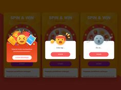 Pop-windows designed by wtidus_wu. Connect with them on Dribbble; Pop Design, Game Design, Graphic Design, Mobile Ui Design, App Ui Design, Game Interface, Interface Design, Card Ui, App Design Inspiration