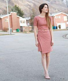 DIY : une robe asymétrique en jersey Un modèle à coudre élégant et polyvalent