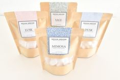 OUD SELECTION gift box 9 Mini snap bars of Highly Scented Handmade Wax Melts