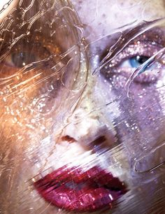 Photograph by Marilyn Minter; styled by Patrick Mackie; W magazine September 2014.
