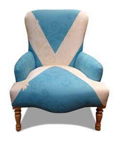 Lambert & Stamp's Ladies Scottish Saltire Chair