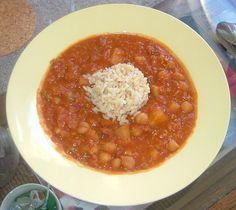 Chickpea Lentil Slow Cooker Stew