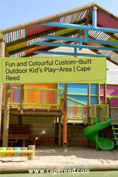 Give your kids the fun and freedom, as well as encouragement, to play outside more, while at the same time benefiting their overall health and development on a whole new level. Kids Play Area, Tree Houses, Outdoor Settings, Outdoor Play, How To Better Yourself, Build Muscle, Kids Playing, Freedom, Encouragement