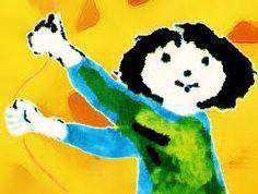detalhe capa de O Livro de Marianinha  ilustrado por Maria Keil   Biblioteca Nacional  http://purl.pt/708/1/obras/obras-m/17.html