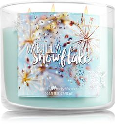 Vanilla Snowflake 3-Wick Candle - Home Fragrance 1037181 - Bath & Body Works