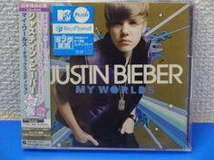 JUSTIN BIEBER My Worlds Deluxe Edition CD+DVD W/Obi NEW JAPAN F/S | Music, CDs | eBay!
