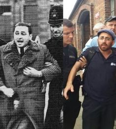 SHOCKING: Rabbi Arrested by Auschwitz Guards for Singing Jewish Songs (Photos) http://www.tlvfaces.com/shocking-rabbi-arrested-auschwitz-guards-singing-jewish-songs-photos/ 3 August 2014