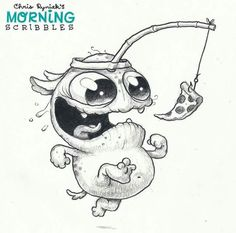 Chris Ryniak - morning scribbles - My kind of workout motivation!