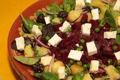 salade met bietjes en feta