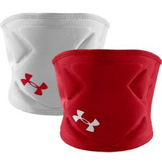 Reversible Under Armour Switch Volleyball Kneepads! Red/White