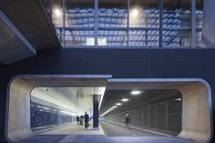 Of Course the Dutch Created an Exquisite Bike Underpass