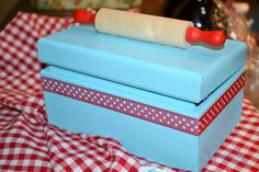 Bun in the Oven baby shower- Recipe Box