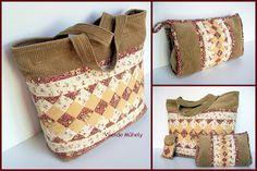 Viselde Műhely: Curi táska-együttes Lunch Box, Bags, Google, Scrappy Quilts, Handbags, Bento Box, Bag, Totes, Hand Bags