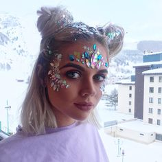 "7,986 Likes, 53 Comments - THE GYPSY SHRINE (@thegypsyshrine) on Instagram: ""❄️✨ We're LOVING this years @rise_festival ✨❄️ The beaut @shan_mcconnell has been sparkled by…"""