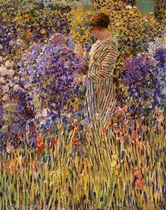 Frederick Carl Frieseke 1874-1939 | American Impressionist | TuttArt@ | Pittura * Scultura * Poesia * Musica |