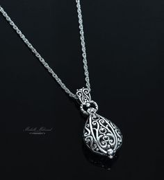 RodiumPlated+Rope+Chain+Necklace+by+MichelleMilward+on+Etsy,+$32.50