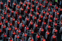 Monks in Seoul, Korea parade during the Buddha Era 2556 Lotus Lantern Festival | photo Jeon Heon-Kyun