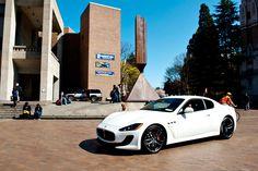 Maserati Granturismo MC Sport Line at the Red Square Car Show at UW