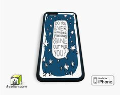 Ed Sheeran Autumn Leaves Lyric Cover iPhone Case 4, 4s, 5, 5s, 5c, 6 and 6 plus by Avallen