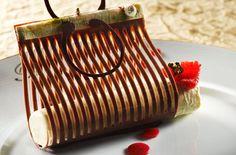 Edible Chocolate Purse - Laurent Jeannin of Hotel Le Bristol - Food perfection.