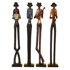Found it at Wayfair - African Band Statue