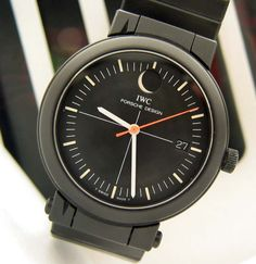 Vintage IWC Porsche Design Moonphase Compass watch - Used and Vintage Watches for Sale