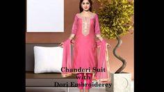 Buy Online Chanderi Suit at Smartdeals4u