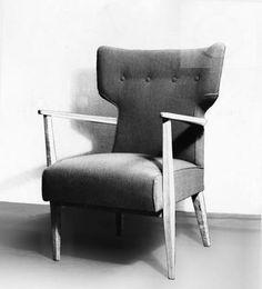 Żmudzińska Irena, 1954 Mid Century Modern Design, Storage Spaces, Teak, Sofas, Mid-century Modern, Armchair, Furniture Design, Poland, 1950s