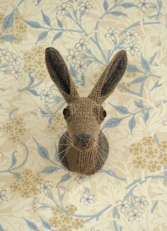 Hare Animal Head  •  Free tutorial with pictures on how to make a taxidermy mount in 19 steps
