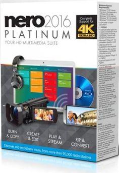 Nero 2016 Platinum Crack plus Serial Keygen Full Version