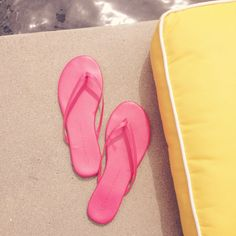 LC Lauren Conrad for Kohl's Flip Flops {love these}