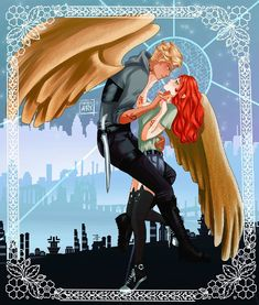 """As long as I can still dream, I will dream of you"" Clary Fairchild & Jace Herondale from The Shadowhunter Chronicles by ! Love shadow hunter but stop killing off the main cjaracters younger sibling RIP Max Lightwood and Livia Blackthorn Clace Fanart, Malec, Clary Und Jace, Cassie Clare, Cassandra Clare Books, Isabelle Lightwood, Shadowhunters The Mortal Instruments, The Dark Artifices, City Of Bones"