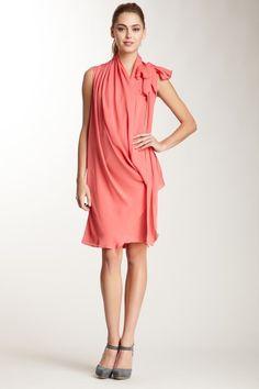 Convertible Silk Dress