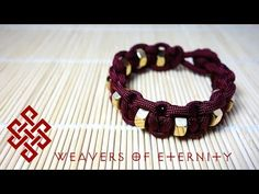 How to make a paracord hexnut bracelet – Paracord Projects