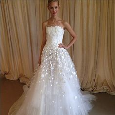 Bridal Fashion Week gave us a glimpse of the 2014 wedding dresses and we are pumped! - Wedding Party | Wedding Party