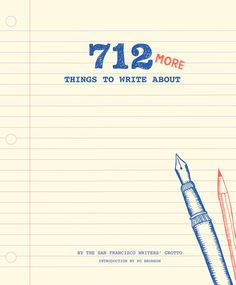 Here are 712 more witty, outrageous, and thought-provoking writing prompts for fans of the superpopular 642 Things to Write About -all guaranteed to get the creative juices flowing: from listing childhood hiding places and describing the sensation of falling asleep to creating memorable characters, unusual fortune cookie messages, and mash-up movie plotlines. A great gift for avid authors, occasional journalers, and casual writers in search of a spark of inspiration.