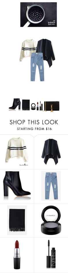 """38"" by emcik ❤ liked on Polyvore featuring Gianvito Rossi, Acne Studios, MAC Cosmetics, NARS Cosmetics, Yves Saint Laurent, women's clothing, women's fashion, women, female and woman"