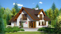 projekt Dom przy Cyprysowej 15 K KRK1381