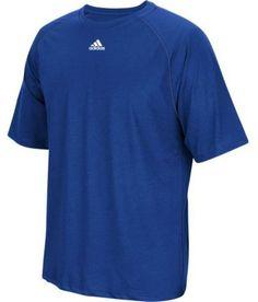 fb74fcd77ff53 adidas Men s Climalite Short Sleeve Tee (Royal Blue