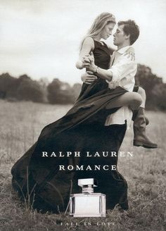 "Ralph Lauren Romance ""Fall in Love"" campaign.  23 Iconic Moments From Ralph…"
