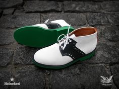 Heineken Partners with Mark McNairy to debut new shoe line.